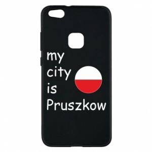 Etui na Huawei P10 Lite My city is Pruszkow