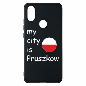 Etui na Xiaomi Mi A2 My city is Pruszkow