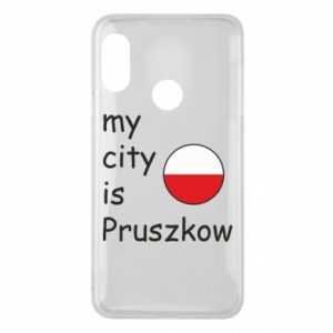 Etui na Mi A2 Lite My city is Pruszkow