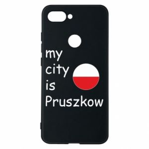 Etui na Xiaomi Mi8 Lite My city is Pruszkow