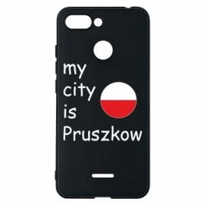Etui na Xiaomi Redmi 6 My city is Pruszkow