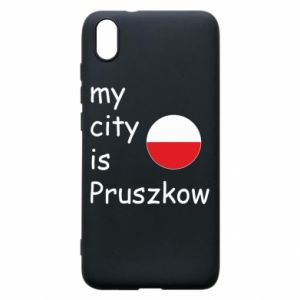 Etui na Xiaomi Redmi 7A My city is Pruszkow