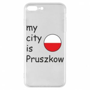 Etui na iPhone 7 Plus My city is Pruszkow