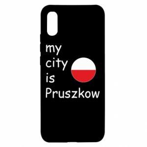 Xiaomi Redmi 9a Case My city is Pruszkow