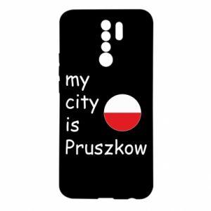 Xiaomi Redmi 9 Case My city is Pruszkow