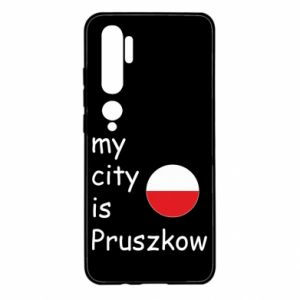 Xiaomi Mi Note 10 Case My city is Pruszkow