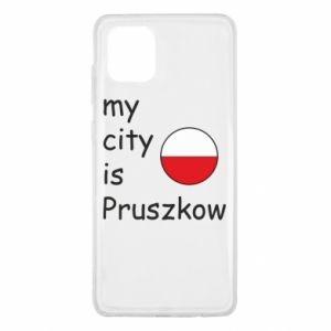 Samsung Note 10 Lite Case My city is Pruszkow