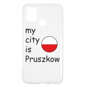 Samsung M31 Case My city is Pruszkow