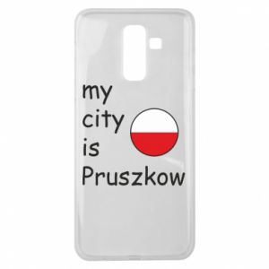 Samsung J8 2018 Case My city is Pruszkow