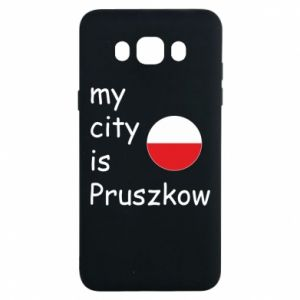 Samsung J7 2016 Case My city is Pruszkow