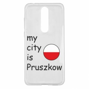 Nokia 5.1 Plus Case My city is Pruszkow