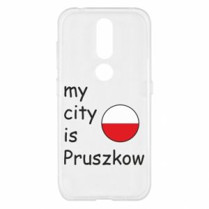 Nokia 4.2 Case My city is Pruszkow