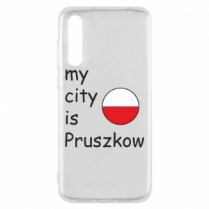Huawei P20 Pro Case My city is Pruszkow