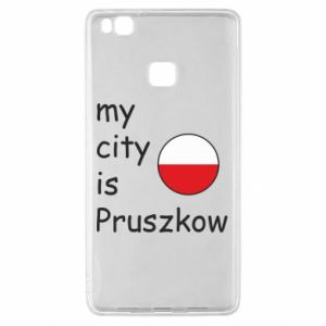 Huawei P9 Lite Case My city is Pruszkow