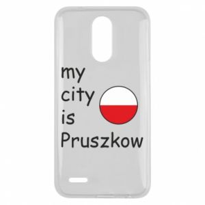 Lg K10 2017 Case My city is Pruszkow