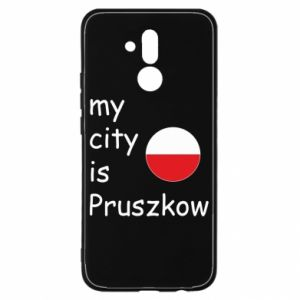 Huawei Mate 20Lite Case My city is Pruszkow