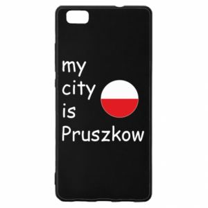 Huawei P8 Lite Case My city is Pruszkow