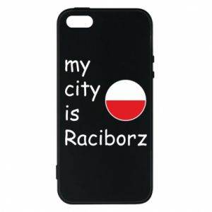 Etui na iPhone 5/5S/SE My city is Raciborz