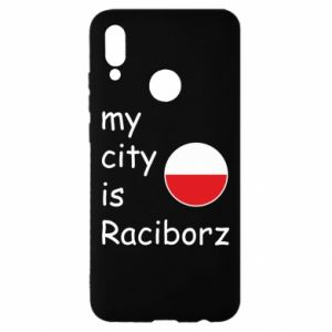 Etui na Huawei P Smart 2019 My city is Raciborz