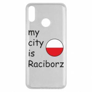 Etui na Huawei Y9 2019 My city is Raciborz