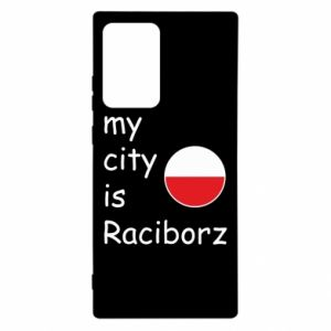Samsung Note 20 Ultra Case My city is Raciborz