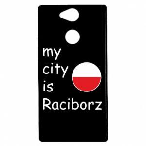 Sony Xperia XA2 Case My city is Raciborz