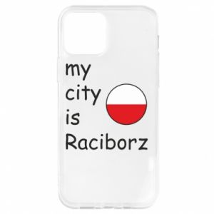 iPhone 12/12 Pro Case My city is Raciborz