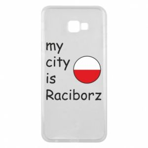Phone case for Samsung J4 Plus 2018 My city is Raciborz
