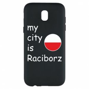 Etui na Samsung J5 2017 My city is Raciborz