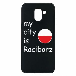 Etui na Samsung J6 My city is Raciborz