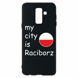 Etui na Samsung A6+ 2018 My city is Raciborz