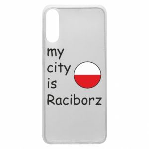 Etui na Samsung A70 My city is Raciborz
