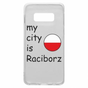 Etui na Samsung S10e My city is Raciborz