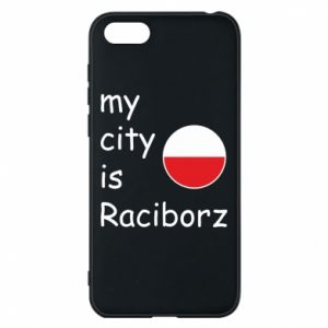 Etui na Huawei Y5 2018 My city is Raciborz