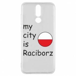 Huawei Mate 10 Lite Case My city is Raciborz
