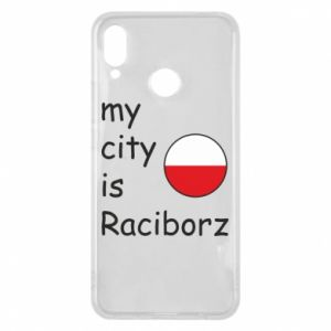 Etui na Huawei P Smart Plus My city is Raciborz