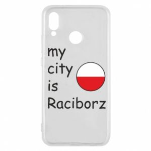 Etui na Huawei P20 Lite My city is Raciborz