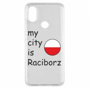 Phone case for Xiaomi Mi A2 My city is Raciborz