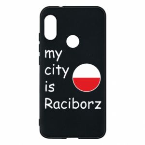 Etui na Mi A2 Lite My city is Raciborz