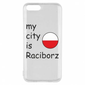 Etui na Xiaomi Mi6 My city is Raciborz