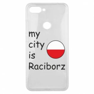 Xiaomi Mi8 Lite Case My city is Raciborz