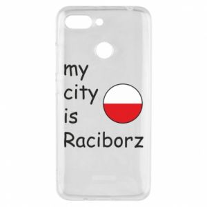 Xiaomi Redmi 6 Case My city is Raciborz