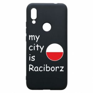 Etui na Xiaomi Redmi 7 My city is Raciborz