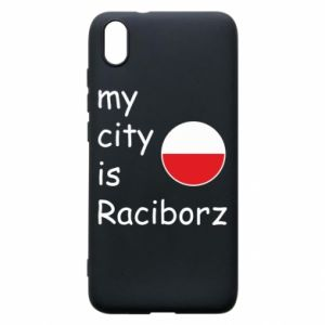 Etui na Xiaomi Redmi 7A My city is Raciborz