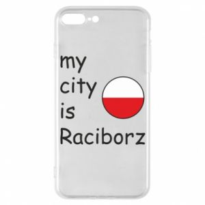 Etui do iPhone 7 Plus My city is Raciborz