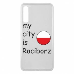 Etui na Samsung A7 2018 My city is Raciborz