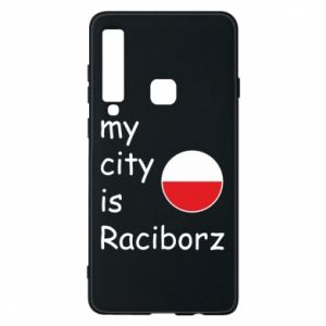 Etui na Samsung A9 2018 My city is Raciborz