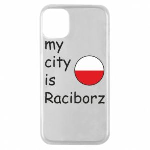 Etui na iPhone 11 Pro My city is Raciborz