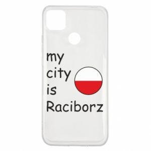 Etui na Xiaomi Redmi 9c My city is Raciborz