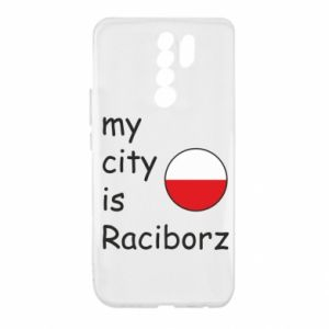 Etui na Xiaomi Redmi 9 My city is Raciborz